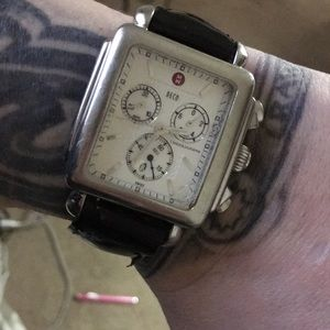 Michele deco chronograph with faults